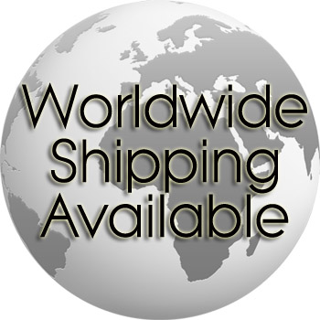 Worldwide Shipping Available